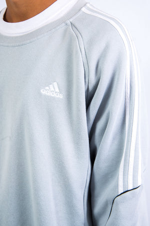 Vintage Adidas Three Stripe Sweatshirt