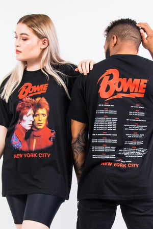 David Bowie Tour T-Shirt