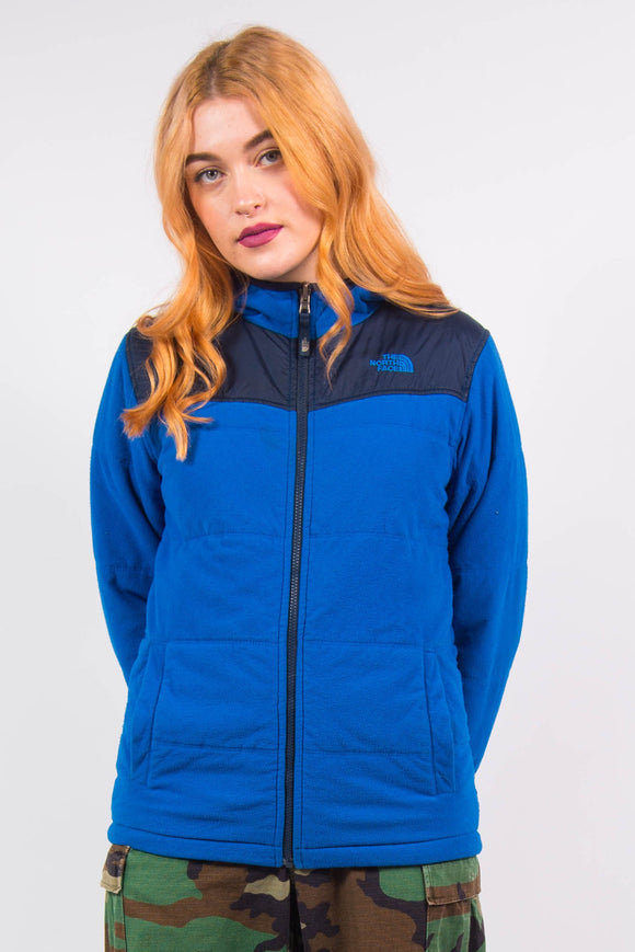 Vintage 90's Blue Reversible The North Face Jacket