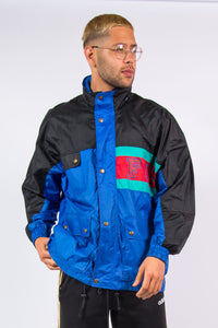 Vintage Waterproof Cagoule Rain Jacket Windbreaker Festival