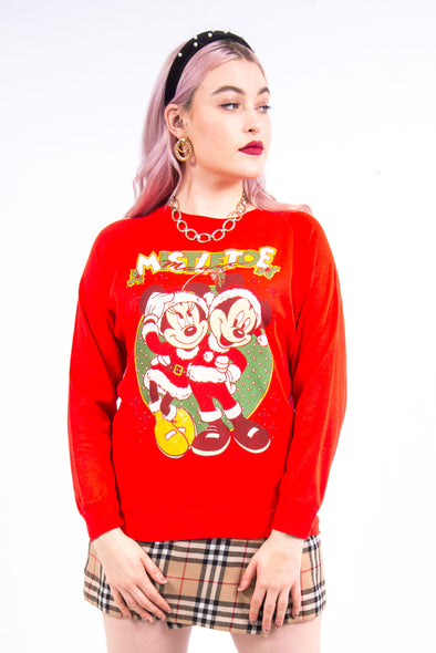 Vintage 90's Disney Mickey and Minnie Mouse Sweatshirt
