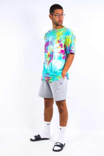 Neon Multi Coloured Tie Dye T-Shirt