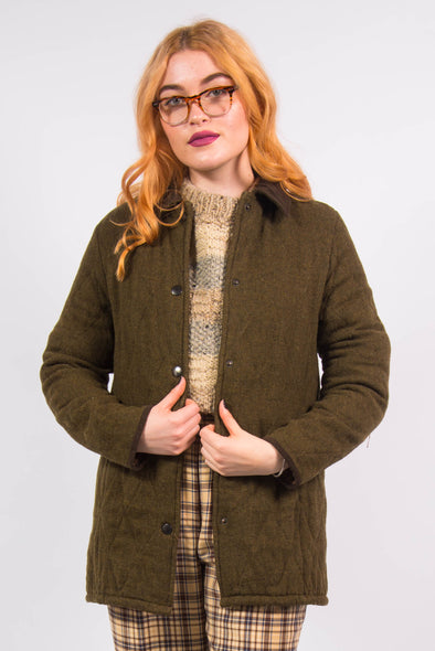 Vintage 90's Barbour Coat Jacket