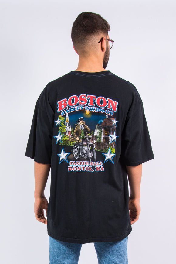 Vintage Harley Davidson Boston T-Shirt