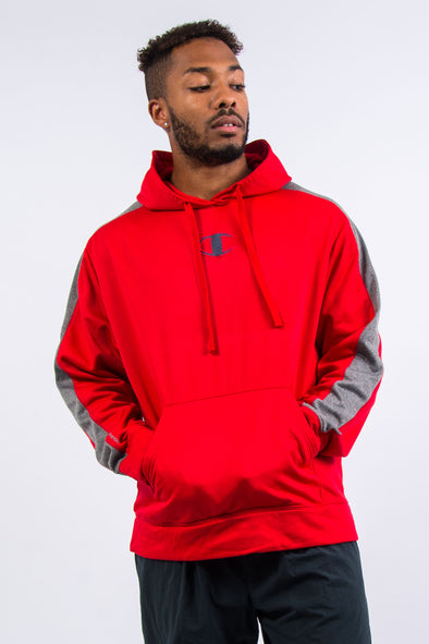 Champion Centre Logo Sports Hoodie