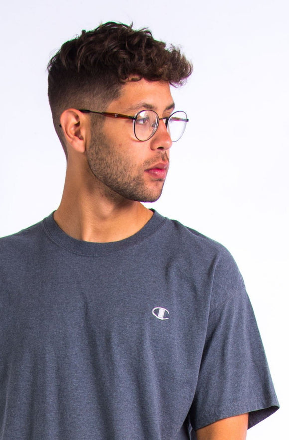 Retro Grey Champion T-Shirt