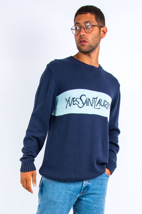 Vintage YSL Cotton Knit Jumper