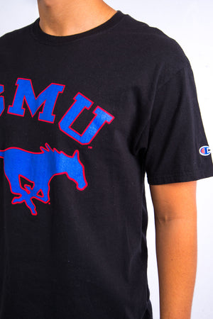 Vintage Champion Southern Methodist University T-Shirt