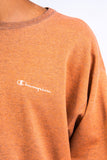 90's Vintage Orange Champion Sweatshirt