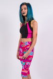 Vintage 90's Cycling Shorts Leggings
