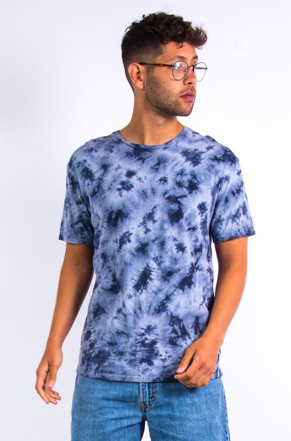 Retro Blue Tie Dye T-Shirt