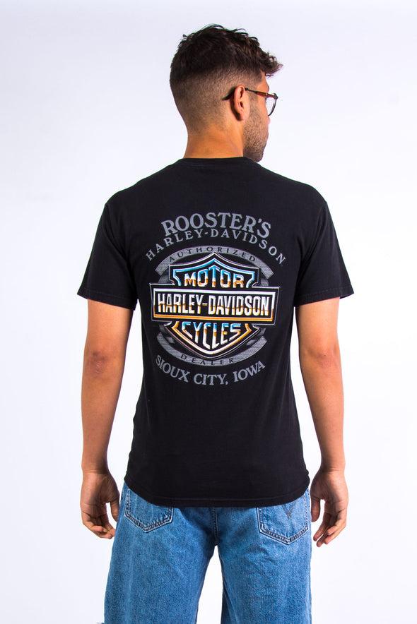 Vintage Harley Davidson T-Shirt Sioux City Iowa