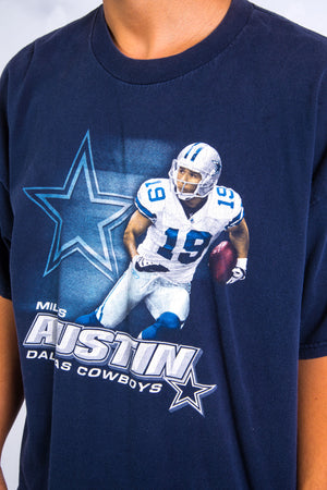 00's Dallas Cowboys Miles Austin NFL T-Shirt