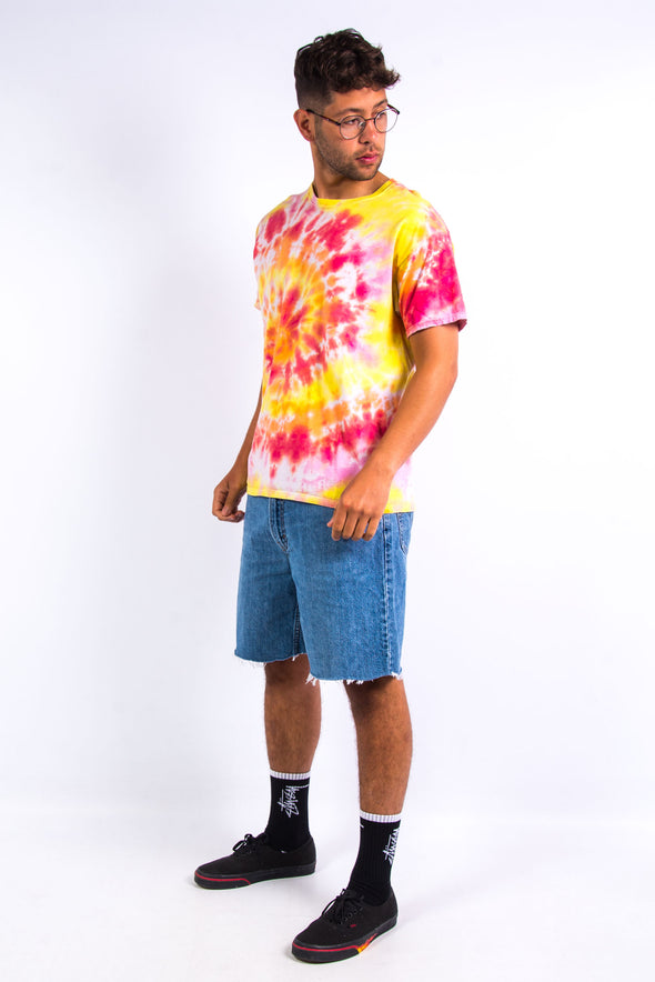 Sunset Spiral Tie Dye T-Shirt