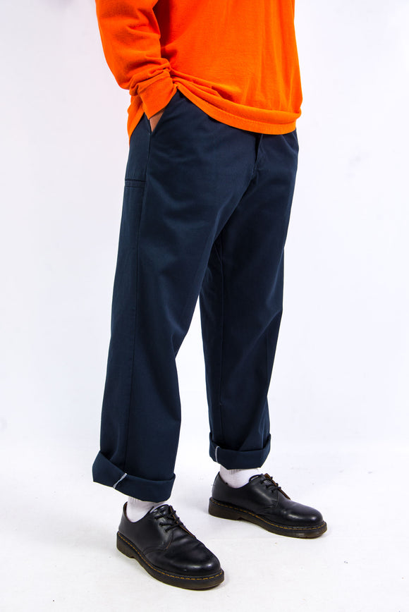 Vintage Dickies Navy Blue Work Trousers