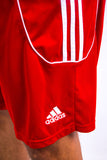 00's Adidas Red Sports Shorts