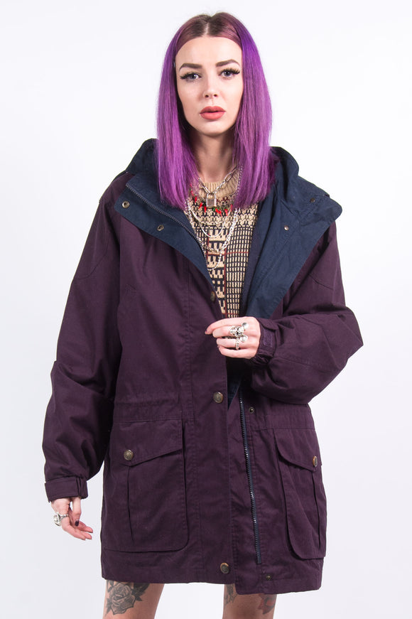 Vintage 90's Lightly Padded Parka Coat