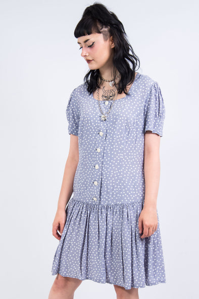 Vintage 90's Polka Dot Mini Dress