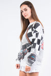 Vintage 90's Goodwrench Racing Print Sweatshirt