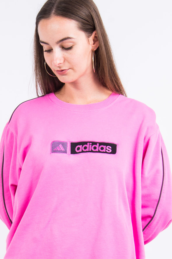 Vintage 90's Adidas Spell Out Sweatshirt