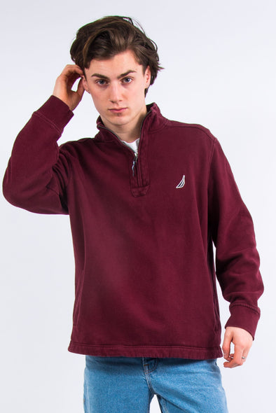 Nautica Quarter Zip Sweatshirt