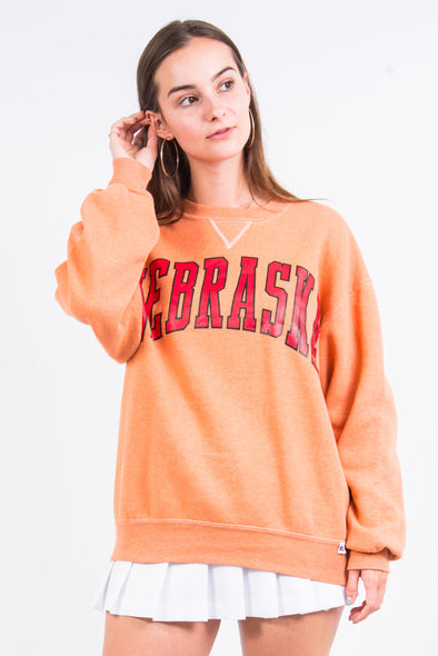 Vintage 90's Nebraska Spell Out Sweatshirt