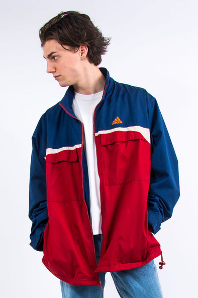 90's Adidas Windbreaker Jacket