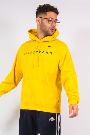 Vintage Nike Livestrong Lance Armstrong Sports Hoodie