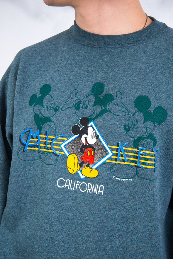 90's Mickey Mouse California Sweatshirt