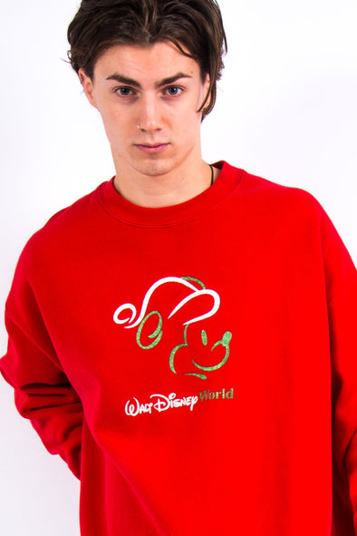 90's Disney World Christmas Sweatshirt