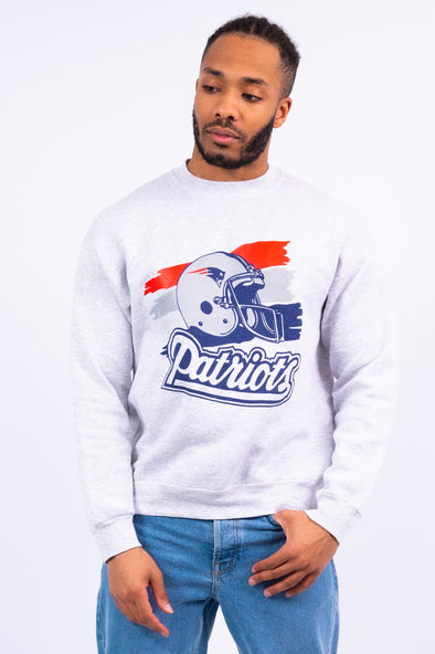 90's New England Patriots NFL Sweatshirt