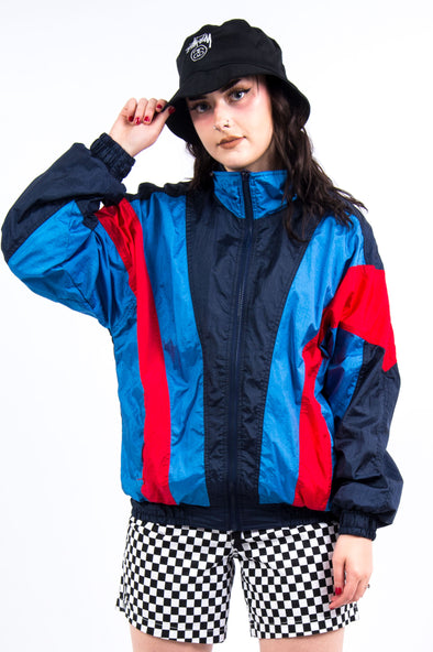 Vintage 90's Colour Block Shell Jacket