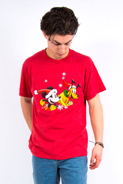 00's Disney Christmas Graphic T-Shirt
