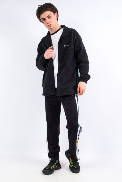 Black Columbia Zip Fasten Fleece