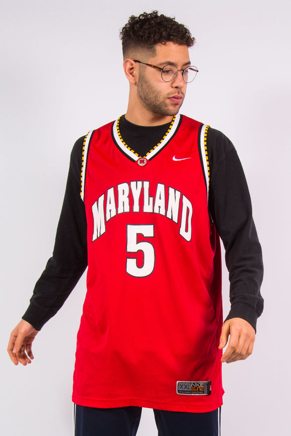 Nike Maryland Terrapins Basketball Jersey