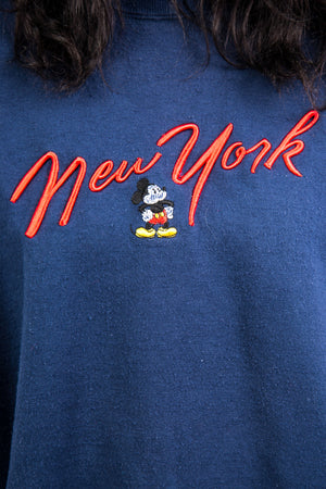 Vintage 90's Disney New York Mickey Mouse Sweatshirt