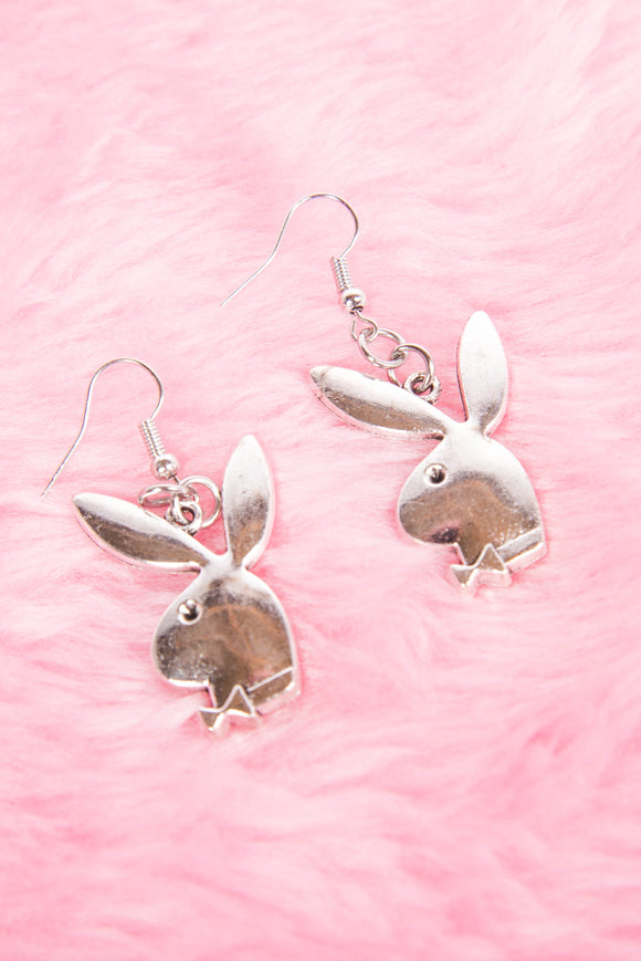 Y2K Playboy Bunny Earrings