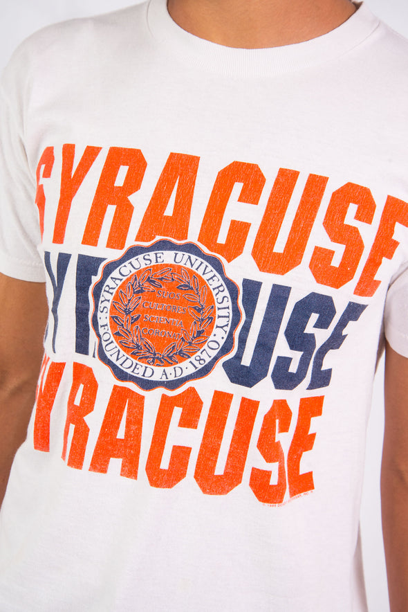 Vintage 80'S Syracuse University T-Shirt
