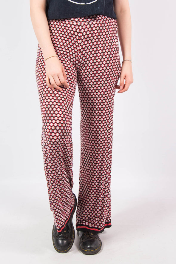 Vintage 90's Patterned Hippie Trousers