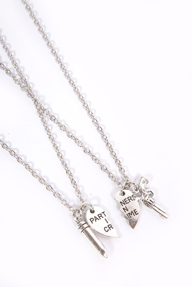 Partners In Crime BFFL Necklaces
