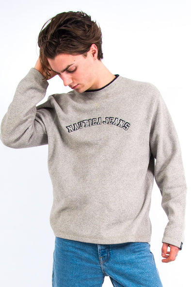 Vintage Nautica Fleece Sweatshirt
