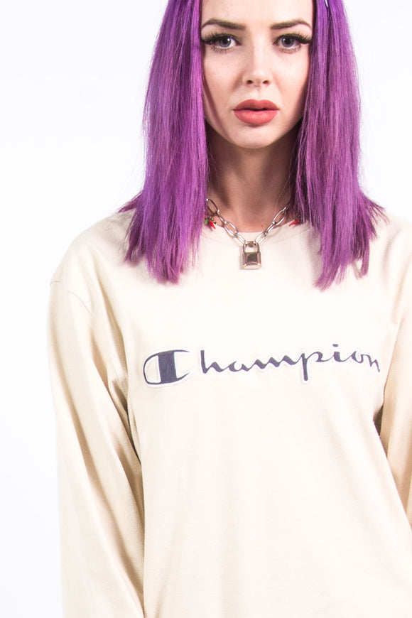Vintage Champion Spell Out T-Shirt