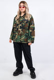 Vintage 90's Green Camo Army Jacket