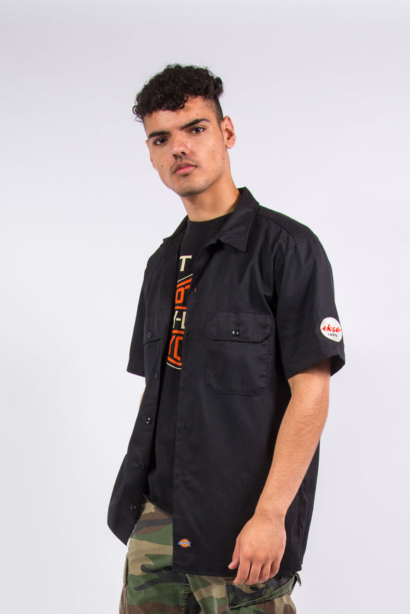 Vintage Dickies Black Work Shirt
