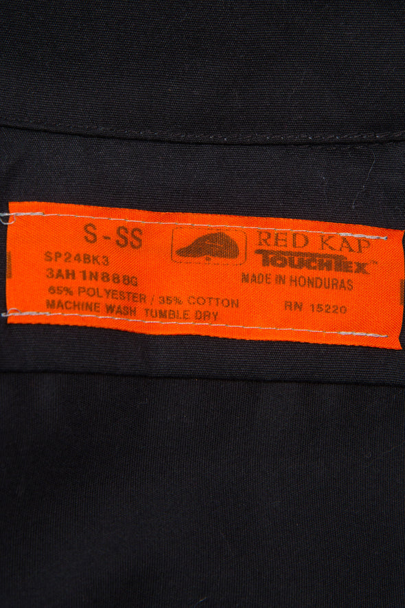 Vintage black Red Kap brand USA workwear shirt.