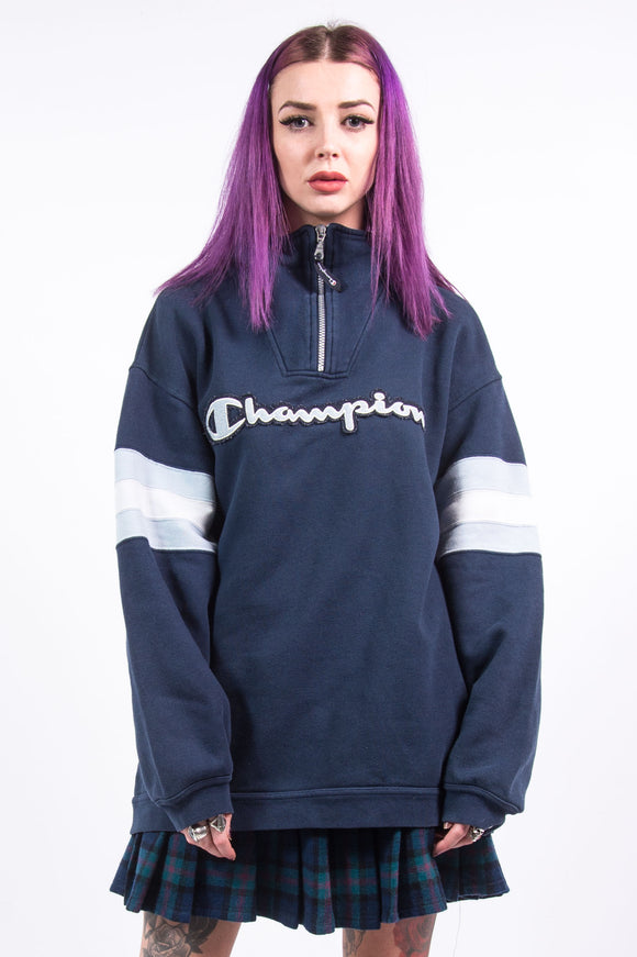 Vintage 1/4 Zip Champion Sweatshirt