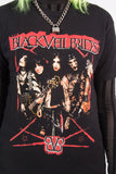 Retro Black Veil Brides Band T-Shirt