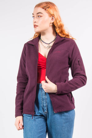 Vintage Columbia Purple Fleece Jacket
