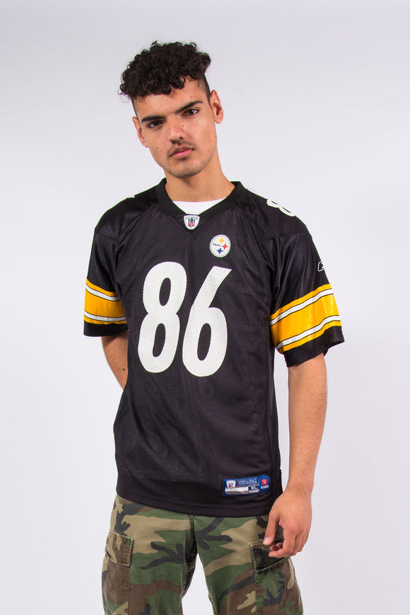 Reebok NFL Pittsburgh Steelers jersey with #86 Ward on the back