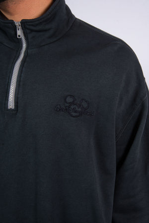 Vintage Disney Quarter Zip Sweatshirt